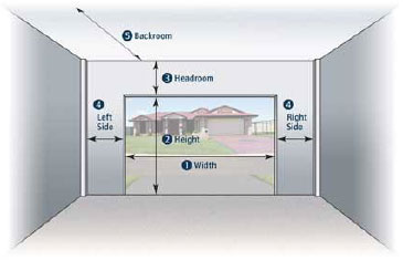 Measuring Your Garage Door