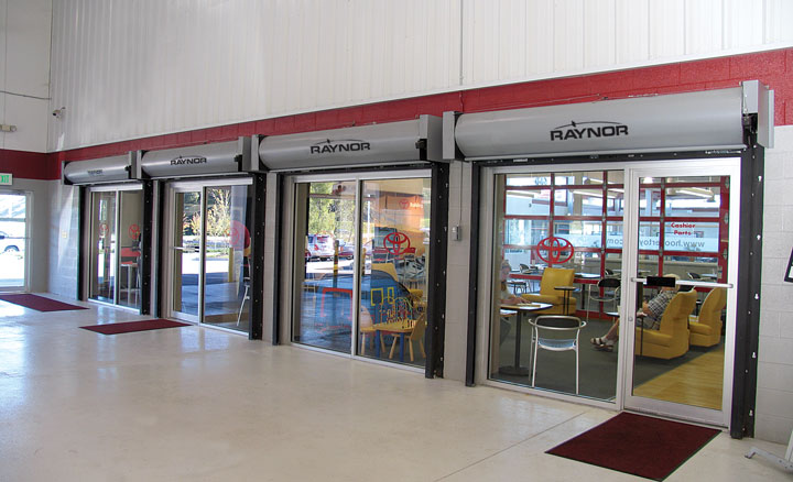 Commercial Raynor Garage Doors