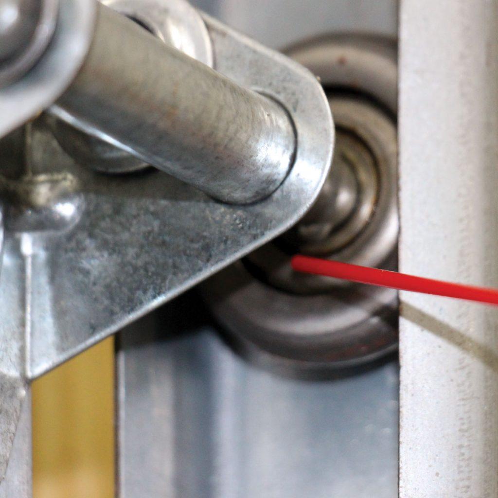 garage door rollers lubrications