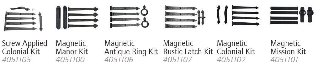 Decorative Hardware Kits