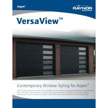 Aspen VersaView Windows product literature