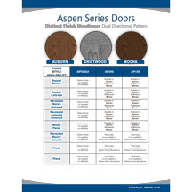 Aspen Series Distinct Finish Woodtones literature